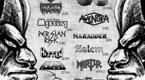 ROCK YOU TO HELL FESTIVAL II (Grim Reaper, Q5, Praying Mantis, Avenger + more) @ Κύτταρο Live