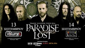 PARADISE LOST @ Stage Volume 1 + Principal Club Theater